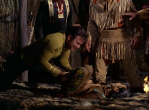 But then Kirk does his magic cpr on a dying boy, and that settles things