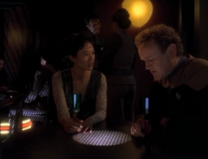 O'Brien finds a botany position for Keiko on Bajor