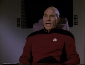 The observer suggests that Picard pretend to be their god, but give them some guidelines so they don't go crazy. Picard doesn't like this idea