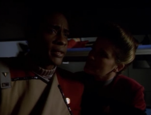 Tuvok explains how he left Starfleet and why he rejoined