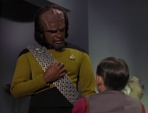 Worf says to honor his mothers memory, not to pretend she's still alive