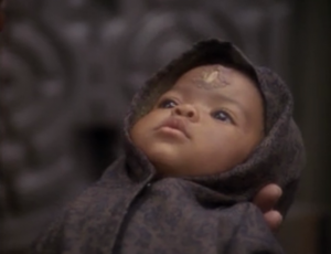Quark finds a baby