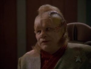 Neelix says the aliens that control the space ahead of them are extremely hostile and dangerous