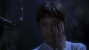 T'Pol only transforms a little because she's magic-vulcan-immune