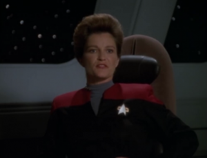 Going around could add more than 15 months to their journey. Janeway decides to go through their space. When I play Oregon Trail I always value survival over making good time