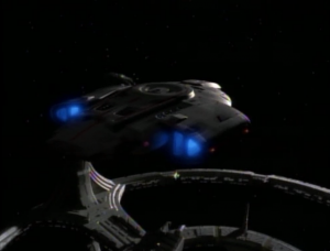 Sisko and Bashir take Dax to the Trill home world. I think they could've just used a runabout