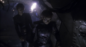 When they get to the Vulcan ship, they find zombie Vulcans