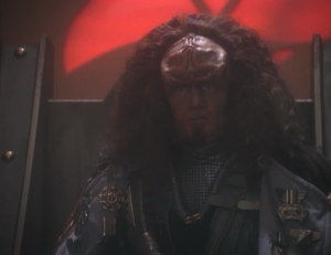 Gowron! This is all an attempt to keep their house from going to the devious brother.