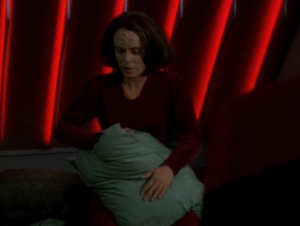 B'Elanna has dreams that feel real. Gotta be some psychic or something, right?