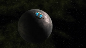 While Hoshi stays at the telepath's house, the rest of the crew find another sphere