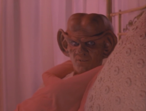 "Kira finds out about Quark's holo-program and she sabotages it. Was this whole sub-plot all for this ""joke""?"