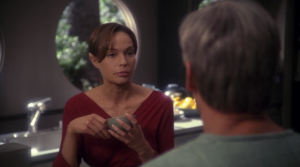 Now T'Pol is different and Archer is oldish