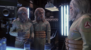 Archer and the Xindi guy become buds and he agrees to send the Xindi making the weapon some bad ingredients