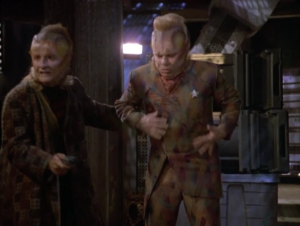 His friend convinces Neelix to help him with this one last thing, but one thing leads to another and they end up killing a guy