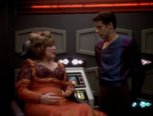 And then we find out it was all Lwaxana's fever that made everyone go crazy