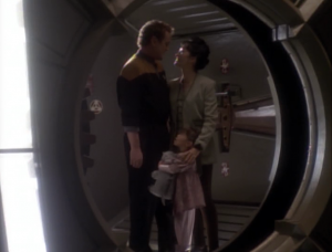 But then Bashir says that O'Brien wasn't under the spell, he just really was being romantic.