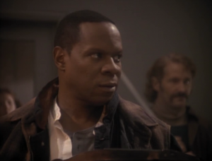 Then Sisko pretends to be the historical figure, even though that means he has to sacrifice his life