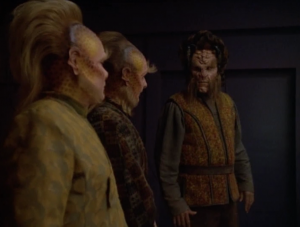 They eventually turn themselves in when Paris and Chakotay are arrested for the crime they committed