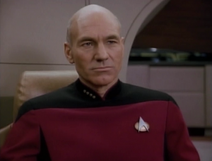 This is a good episode for Picard