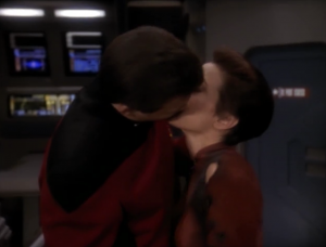I don't quite understand the kiss at the end. I thought they hated each other.