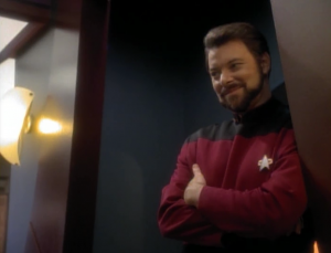 Riker shows up!