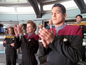 Why are they clapping for the supernova? Great job, universe!