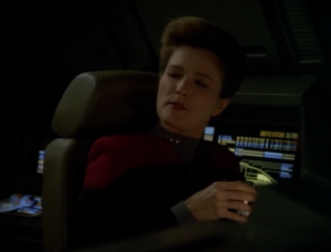 Since Neelix handled the situation so well, she makes him an ambassador
