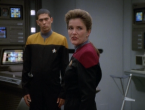 """Cronowork's stock is about to crash."" Good one, Janeway"