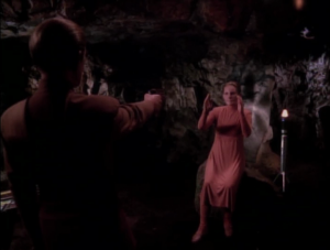 Turns out it was the changeling. She wanted to see what was keeping Odo from returning to the great link. Instead of pretending to be Kira dying, eliminating Odo's reason for staying, why not just really kill Kira?