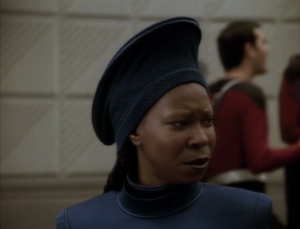 Things are different. Guinan can feel it