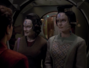 Sisko isn't worried about it because there are only 2 Cardassians coming to the station