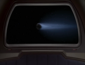Then there's a comet! It has to be the sword of stars!