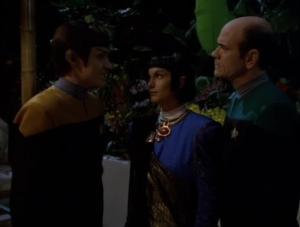 The Doctor suggest Vorik just take a temporary holodeck mate so he won't die from Pon Farr