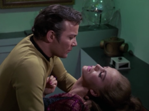 They needed Kirk because he had a disease that works on their planet. They need it to kill some people