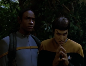 Tuvok says hey, let's just let them fight