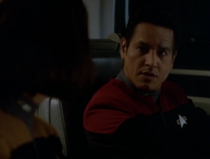 Then Chakotay hears voices!