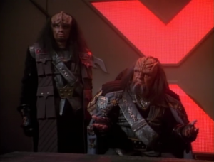 It's revealed that the real traitor was Duras, but his family is too powerful, and ruling against them would cause a civil war. They figured no one would challenge the ruling against Worf's father.