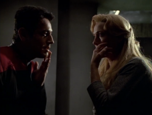 In order to fully heal Chakotay they need to link with him. It also makes him fall in love with the lady