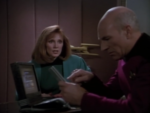 Everyone keeps trying to get Picard to go on vacation