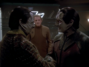 He asks Garak to join him and Garak agrees. To be continued!