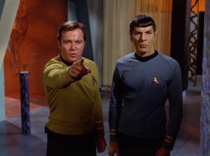 Kirk and Spock don't think that's right