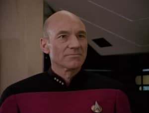 Picard accidentally calls him Broccoli to his face. whoops