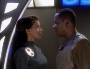 For some reason they keep Sisko alive and even let him meet privately with Jennifer