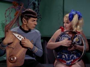 Spock joins in for a duet