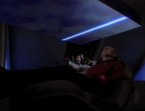 Picard get's abducted by a rectangle