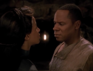 Jennifer figures out that it's not the Sisko she married