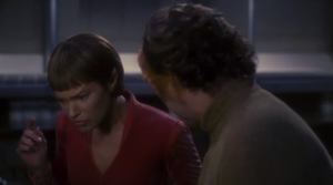 And T'Pol can't remember how to do anything and for some reason doesn't even touch anything. She says her emotions are messing with her