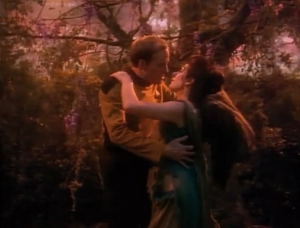 """And then of course there was """"Hollow Persuit"""" where Barclay is in love with a holographic version of Troi. That's not creepy at all"""