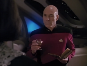 Picard was replace by a duplicate