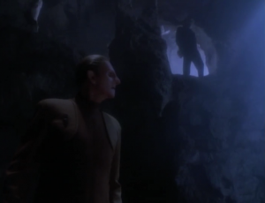 Odo talks to a Cardassian. Apparently a bunch of people from the obsidian order are being killed